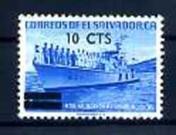 A14979)Schiffe: El Salvador 872 Gest. - Schiffe