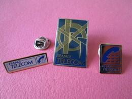 PIN'S   LOT 3 FRANCE TELECOM - France Telecom