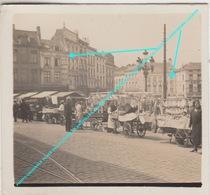 PHOTO ORIGINALE PLACE DE LA CHAPELLE BRUXELLES / MARCHE AUX POISSONS / Magasin Balances MELOT Et IMPRIMERIE LUCIFER - Markten