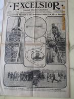 RARE:EXCELSIOR Journal Illustré Quotidien Du 3 Septembre 1913- Pégoud Vol La Tête En Bas - Journaux - Quotidiens