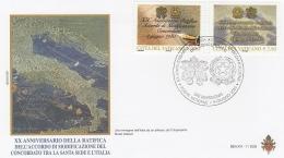 A15718)Vatikan FDC 1523 - 1524 - FDC