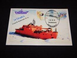 Indonesia 2004 Hobart Tasmania Paquebot Card__(L-22427) - Indonesien
