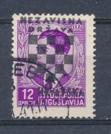 Kroatië/Croatia/Croatie/Kroatien 1941 Mi: 20 (Gebr/used/obl/o)(3431) - Kroatië