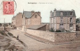 CPA  22   GUINGAMP---ENVIRONS DE LA GARE---1905 - Guingamp