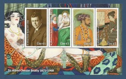 Irland  / Eire  2018 , Sir Alfred Chester Beatty 1875 / 1968 - Sheet - Postfrisch / MNH / (**) - Nuevos