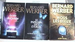 Werber, Bernard, Lot De 6 Ouvrages - Books, Magazines, Comics