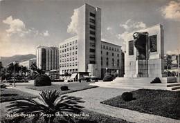 """08347 """"LA SPEZIA -PIAZZA ITALIA E GIARDINI"""" ARCH. '900. ANIMATA.  CART SPED 1939 - La Spezia"""