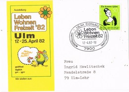 29786. Tarjeta ULM DONAU (Alemania Federal) 1982. Leben Wohnen Freizeit 82 - [7] República Federal
