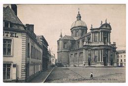 CPA : NAMUR L'Hôtel Et  La Cathédrale St Aubain - Namur