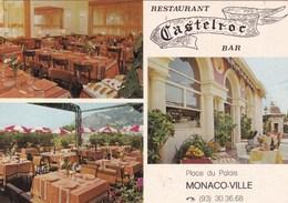 RESTAURANT CASTELROC BAR MONACO-VILLE (dil382) - Cafes & Restaurants
