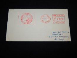 New Zealand 1991 Scott Base Antarctica Meter Mark Cover__(L-22166) - Storia Postale