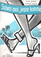 Dossier De Presse Cinéma. Suivez Moi, Jeune Homme. Film De Guy Lefranc. Dany Robin, D. Gélin, M.Galabru, N.Roquevert. - Cinema Advertisement