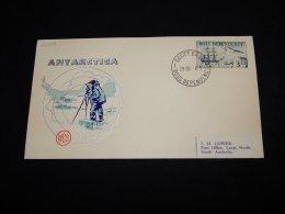 Ross Dependency 1965 Scott Base Antarctica Cover__(L-22008) - Ross Dependency (New Zealand)