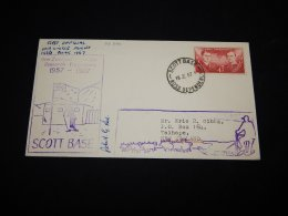 Ross Dependency 1967 First Official Midwinter Flight Cover__(L-22254) - Ross Dependency (New Zealand)