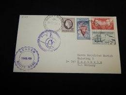 Ross Dependency 1968 Leader Scott Base Cover__(L-21409) - Briefe U. Dokumente