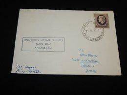 Ross Dependency 1972 Cape Bird Antarctica Card__(L-21411) - Ross Dependency (New Zealand)