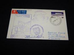 Ross Dependency 1973 Wintering Party Station Cover__(L-22303) - Ross-Nebengebiet (Neuseeland)