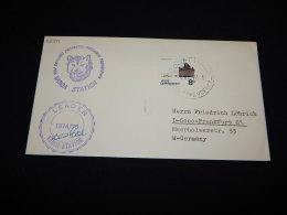 Ross Dependency 1974 Leader Vanda Station Cover__(L-22341) - Storia Postale