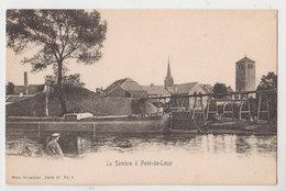 Cpa Pont De Loup   Bateaux - Aiseau-Presles
