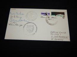 Ross Dependency 1976 Vanda Station Signature Cover__(L-22295) - Briefe U. Dokumente