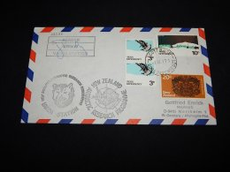 Ross Dependency 1977 Leader Vanda Station Signature Cover__(L-22335) - Briefe U. Dokumente
