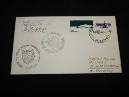 Ross Dependency 1978 Vanda Station Signature Cover__(L-21442) - Lettres & Documents