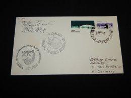 Ross Dependency 1978 Vanda Station Signature Cover__(L-21442) - Storia Postale