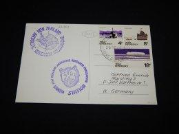 Ross Dependency 1981 Scott Base Vanda Station Card__(L-22364) - Ross-Nebengebiet (Neuseeland)