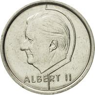 Monnaie, Belgique, Albert II, Franc, 1996, Bruxelles, TTB+, Nickel Plated Iron - 1993-...: Albert II