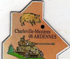 Magnets Magnet Le Gaulois Departement France 08 Ardennes - Tourism