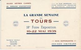 BUVARD - TOURS, Indre Et Loire - La Grande Semaine De Tours 1938 - Peintures
