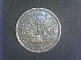 20 Centimes 1863 - Haïti