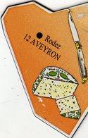 Magnets Magnet Le Gaulois Departement France 12 Aveyron - Tourism