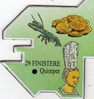 Magnets Magnet Le Gaulois Departement France 29 Finistere - Tourism