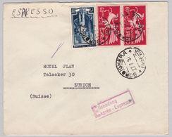 Brief In Die Schweiz (br5031) - 6. 1946-.. Republic