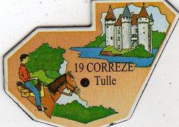 Magnets Magnet Le Gaulois Departement France 19 Correze - Tourism