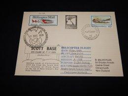 Ross Dependency 2001 Helicopter Mail Cover__(L-22146) - Ross-Nebengebiet (Neuseeland)