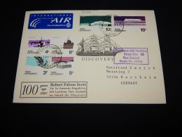 Ross Dependency 2001 Robert Falcon Scott Air Mail Cover To Germany__(L-22234) - Ross Dependency (New Zealand)