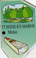 Magnets Magnet Le Gaulois Departement France 77 Seine Et Marne - Tourism