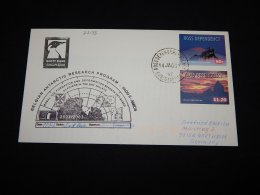 Ross Dependency 2003 Belgian Antarctic Research Program Cover__(L-22133) - Ross Dependency (New Zealand)