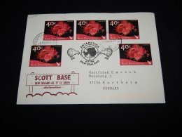 Ross Dependency 2003 Scott Base Cover To Germany__(L-22107) - Ross Dependency (New Zealand)