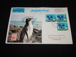 Ross Dependency 2006 Penguin Stamps Air Mail Cover To Germany__(L-21426) - Ross Dependency (Nieuw-Zeeland)