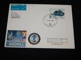 Ross Dependency 2007 Christchurch Andrill Cover__(L-22223) - Ross Dependency (New Zealand)