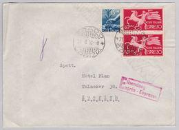 Brief In Die Schweiz (br5034) - 6. 1946-.. Republic