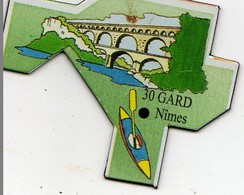 Magnets Magnet Le Gaulois Departement France 30 Gard - Tourisme