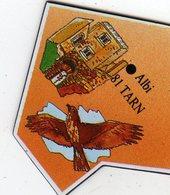 Magnets Magnet Le Gaulois Departement France 81 Tarn - Tourisme