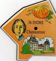 Magnets Magnet Le Gaulois Departement France 36 Indre - Tourisme