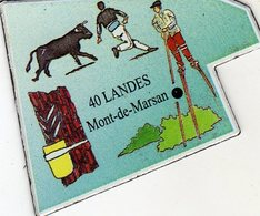 Magnets Magnet Le Gaulois Departement France 40 Landes - Tourism