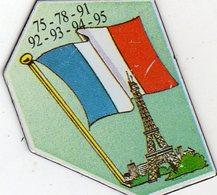 Magnets Magnet Le Gaulois Departement France 75 78 91 92 93 94 95 Ile De France - Tourisme