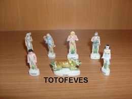 SERIE COMPLETE RAHAN DE 7 FEVES N°366 - Other